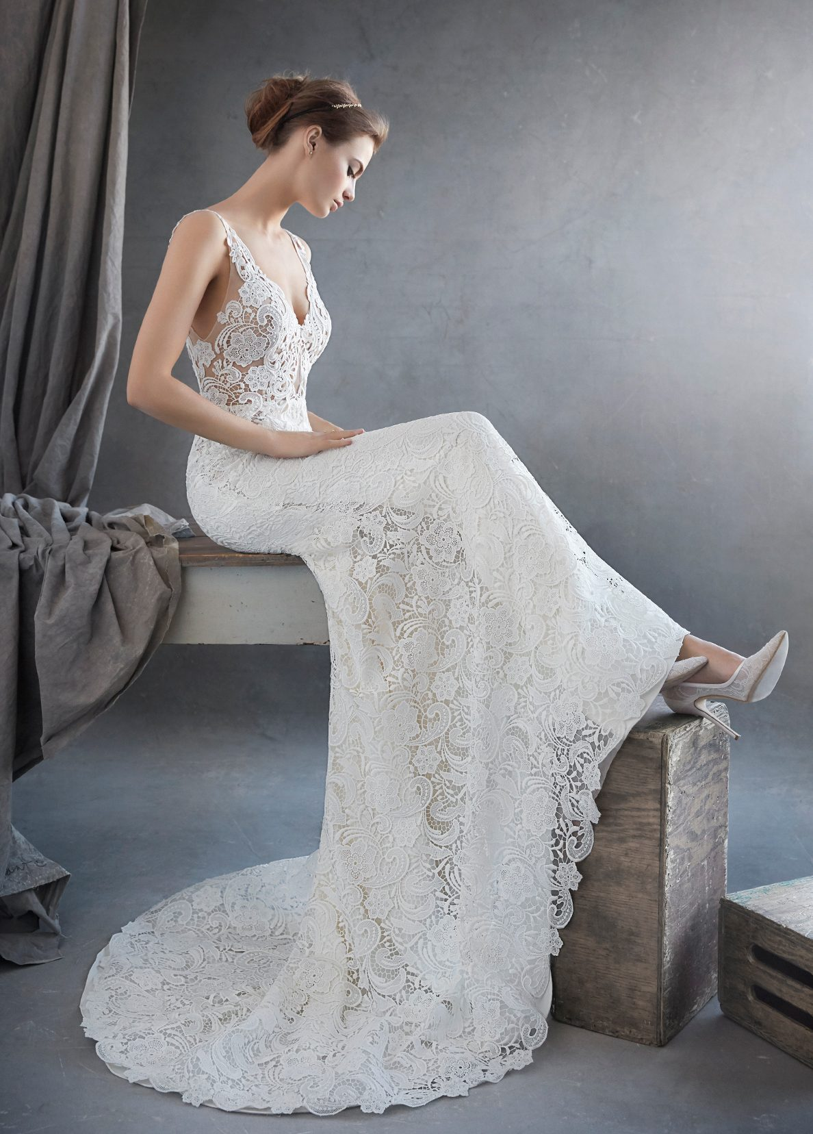 Dress of the Week: Lazaro Style 3609 Trumpet Silhouette